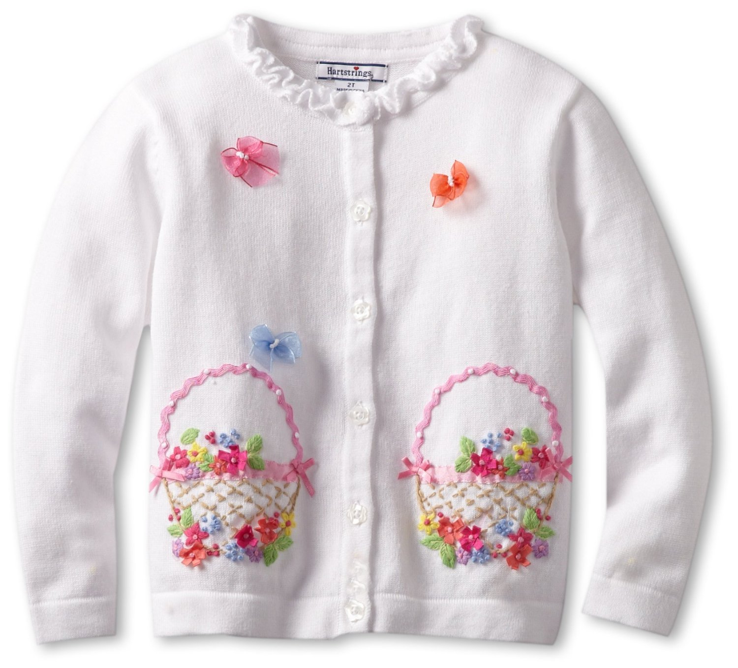 Girls Cotton Easter Sweater